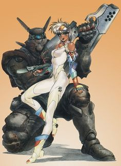 Image result for appleseed manga unicycle