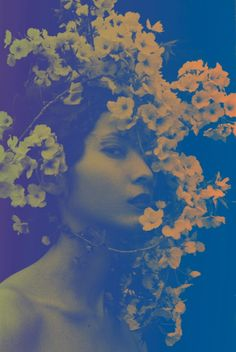 Surreal Floral Portraits by Sayaka Maruyama - My Modern Metropolis