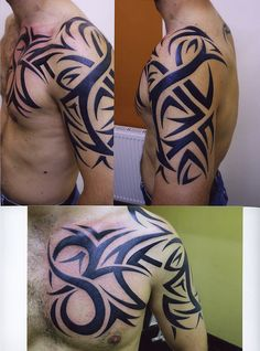 tribal freehand work done by john at bizarre ink 36 westport edinburgh