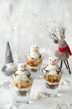 Dollar Tree Christmas, Christmas Eve, Xmas, Tiramisu Trifle, Dessert Original, New Years Eve Party, Christmas Desserts, Mousse, Panna Cotta