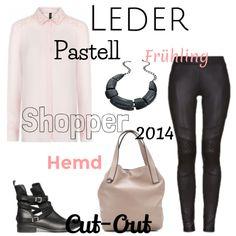 Leder/ Pastell für den Frühling 2014