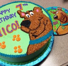 scooby doo buttercream cake - Google Search