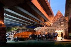 FOLLY FOR A FLYOVER Folly for a Flyover transformed a disused motorway undercroft in Hackney Wick into an arts venue and new public space. Over nine weeks, 40,000 local residents, artists and visit...