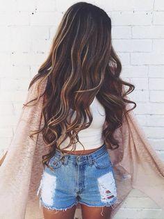 Beautiful girl for beautiful dark hair..nice tricks in the tutorial anyway