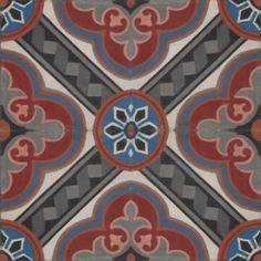 Moroccan Encaustic Cement Pattern Tiles 35a