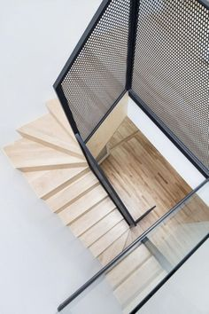 What do you think of designing and decorating your home in a new way using perforated metal sheets? Perforated metal sheets are also referred to as Stair Handrail, Staircase Railings, Stairways, Iron Staircase, Staircase Remodel, Staircase Ideas, Contemporary Stairs, Modern Stairs, Staircase Design Modern