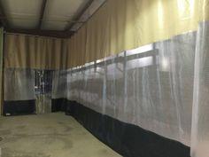 Industrial Curtain Created for Barn Separation & Insulation Industrial Curtains, Shooting Sports, Insulation, Valance Curtains, Venice, Flow, Barn, Articles, Create