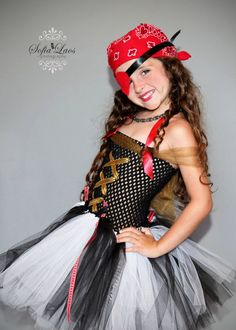 Sassy Girl PIrate Costume & pirate tutu dress - Google Search | costumes! | Pinterest | Pirate ...
