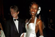 25Yrs Ago.. It wasn't a glamorous affair or a star-studded event. When David Bowie married supermodel Iman on April 24, 1992, there were only three people in attendance.
