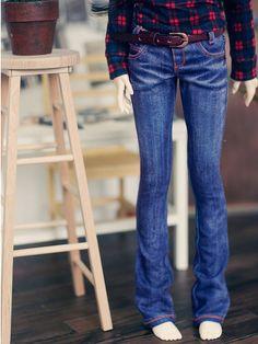 SD13 girl  Boot Cut Jean