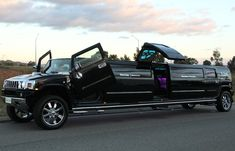 SHOWTIME - 16 Seat Black Hummer Limo Hire Perth
