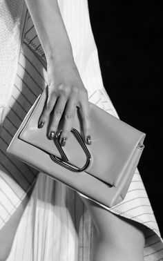 Leather Clutch Bag - chic runway accessories // 3.1 Phillip Lim Spring 2016