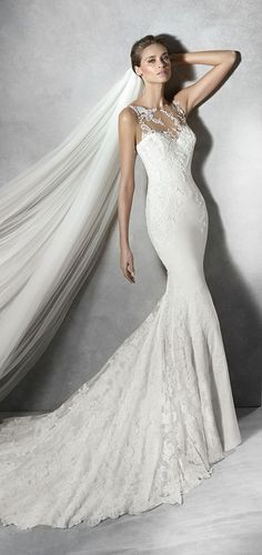 Pronovias 2016 Wedding Dress - absolutely beautiful collection