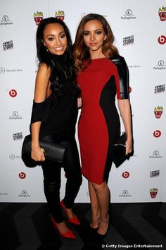 Leigh-Anne Pinnock and Jade Thirlwall of Little Mix