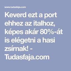 Keverd ezt a port ehhez az italhoz, képes akár 80%-át is elégetni a hasi zsírnak! - Tudasfaja.com Healthy Life, Arc, Yogurt, Healthy Living