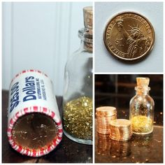10 Tooth Fairy Traditions and Ideas - I always thought a gold token was a good alternative to money - tokens = prizes or things to go do!