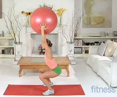 fifteen stability ball exercises