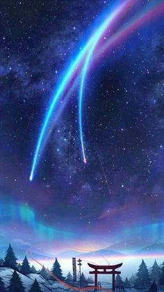 Most Great Aesthetic Anime Wallpaper IPhone kimi no na wa wallpaper phone Anime Backgrounds Wallpapers, Anime Scenery Wallpaper, Pretty Wallpapers, Animes Wallpapers, Phone Wallpapers, Pretty Backgrounds, Simple Wallpapers, Your Name Wallpaper, Galaxy Wallpaper