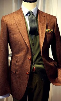 Don't be afraid to mix and match some of your suits.  You might be amazed at the results...