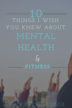 10 Things you should know about Mental Health and Fitness. How do mental health and fitness go together? Was Elle Woods right? Is iron my therapy? lifestyle lifestyle fitness lifestyle healthy habits lifestyle ideas lifestyle tips Health And Fitness Tips, Health And Nutrition, Health Tips, Health And Wellness, Mental Health, Health Care, Fitness Plan, Women's Fitness, Nutrition Guide
