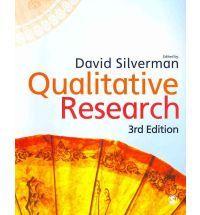 #newbooks : Qualitative research by D. Silverman (ed.) - H62 QUA