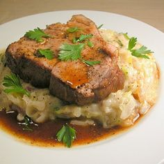 Jameson Whiskey Braised Pork Shoulder and (more) Potatoes Colcannon