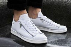 Adidas Stan Smith Velcro edition Reem condition Depop