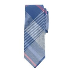 jack's tie in faded twilight plaid.