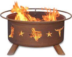 Lonestar fire pit