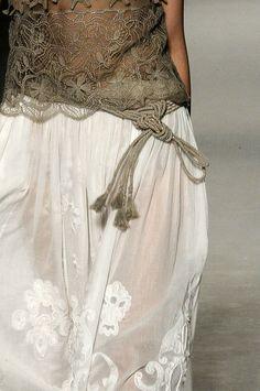 noimagesareutterlysilent: Tulle Chiffon Organza Silk Muslin Sequins Velvet soft cotton & some lace