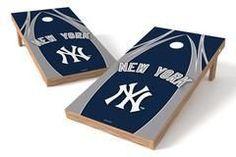 New York Yankees Single Cornhole Board - The Edge