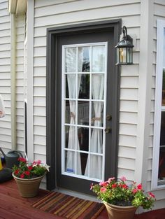 French Door Curtains For Deck
