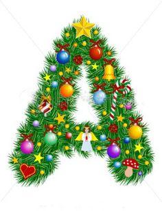 mara jos argeso abecedario navideo alphabet letters design monogram letters letter