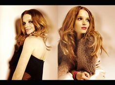The lovely Karoline Herfurth; photographed by Berry Behrendt.
