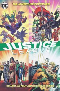 General Mills Presents Justice League Vol 2 3 Back Cover