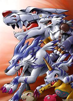 Gabumon digievolutions Digimon