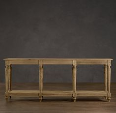 RESTORATION HARDWARE FRENCH COLONNADE CONSOLE TABLE  $825