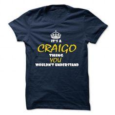 awesome CRAIGO Name Tshirt - TEAM CRAIGO, LIFETIME MEMBER Check more at http://onlineshopforshirts.com/craigo-name-tshirt-team-craigo-lifetime-member.html