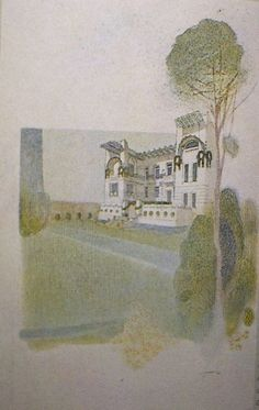 """Otto Schönthal, Vojczik Haus, Linzerstrasse 375, Wien 1901, """"Der Architekt"""", VII"""
