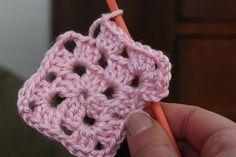 crochet granny square tutorial