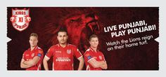 Venue: Mohali - PCA Stadium Dates: 13th & 16th May, 2015  Watch the LIONS defend their den!   Buy Kings XI Punjab (KXIP) Mohali Tickets Online 2015 on Kyazoonga    http://www.kyazoonga.com/cricketpages/cricketdetail.aspx?eid=1200#.VUyRkmeqZJQ
