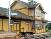 The South Coast Railroad Museum, in Goleta, CA