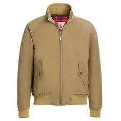 Barcuta G9 Harrington Jacket in tan @baracuta #Baracuta #G9 #streetfashion #streetstyle #mensstyle #mensfashion #oldschool #dapper #suave #classic #stylish #fashionbloggers #blackpelican...