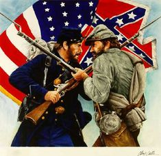During the 1860s, there was a civil war going on. This civil war was called the American Civil War because the South broke off of the Union and lead to conflict.