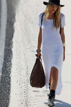 white-tee-dress