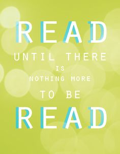 Read until there is nothing more to be read.