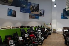 We have an excellent range of mobility scooters at our Hayes showroom. Come down today or call us on 0208 561 7733 to find out more! Mobility Scooters, Showroom, How To Find Out, Range, Shopping, Cookers, Stove, Fashion Showroom