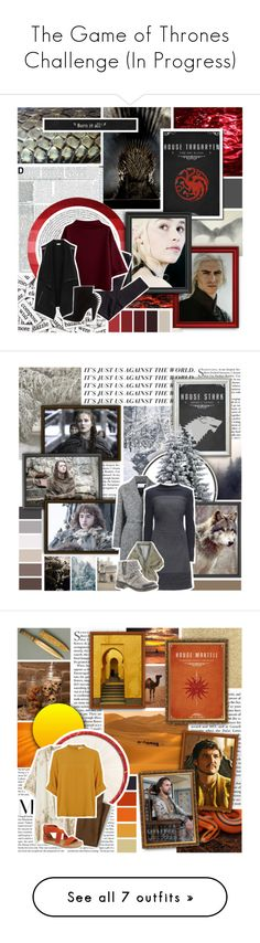 """""""The Game of Thrones Challenge (In Progress)"""" by evil-laugh ❤ liked on Polyvore featuring H&M, Vince, Christian Louboutin, Seed Design, Alexander Wang, Lattori, Rocket Dog, GUINEVERE, Tisch New York and MANGO"""