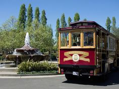 Wine trolley to roll in the valley! Wine tasters can leave their cars behind!
