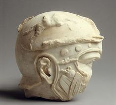 Fragmentary marble head of a helmeted soldier Period: Early Imperial, Flavian Date: ca. Culture: Roman Medium: Marble Dimensions: Overall: 7 x 7 x Classification: Stone Sculpture Credit Line: Fletcher Fund, 1925 Accession Number: Roman Sculpture, Stone Sculpture, Modern Sculpture, Ancient Rome, Ancient History, Ancient Greece, Roman History, Art History, Metropolitan Museum